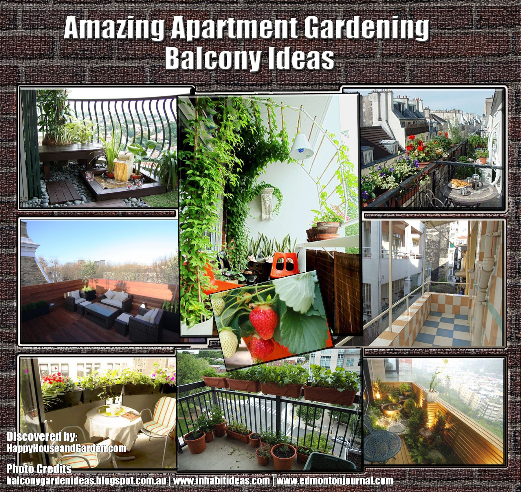 amazing apartment gardening balcony ideas