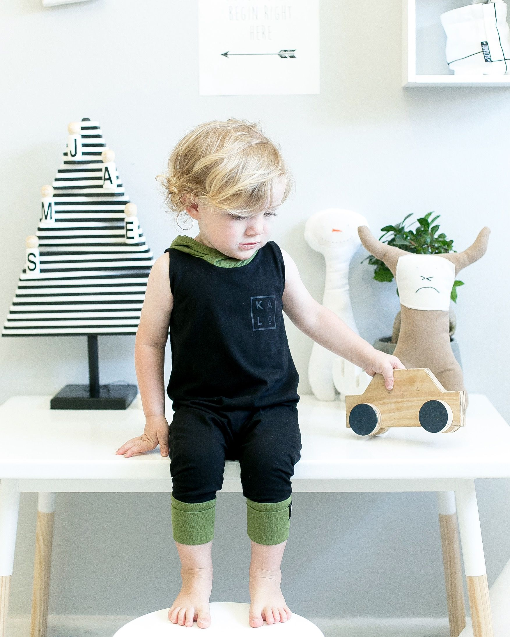 Toddler Romper and bespoke kids toys