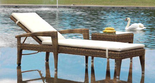 Design-Liegestuhl AGADIR für Garten und Terrasse Dekoratiaon - designer gartenmobel kenneth cobonpue