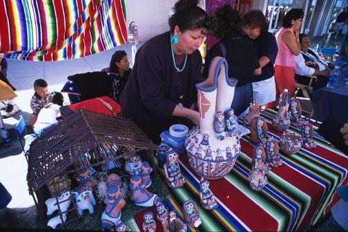 Santa Fe Indian Market     http://www.nileguide.com/destination/blog/santa-fe/files/2011/07/Indian-Market1.jpg