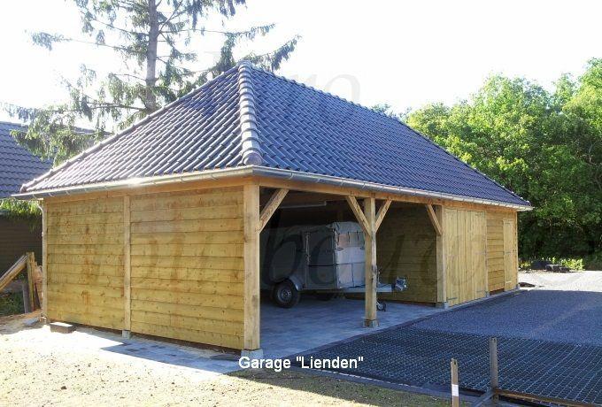 Houten garage bouwen kies voor jaro houtbouw jaro for Houten zwembad bouwen