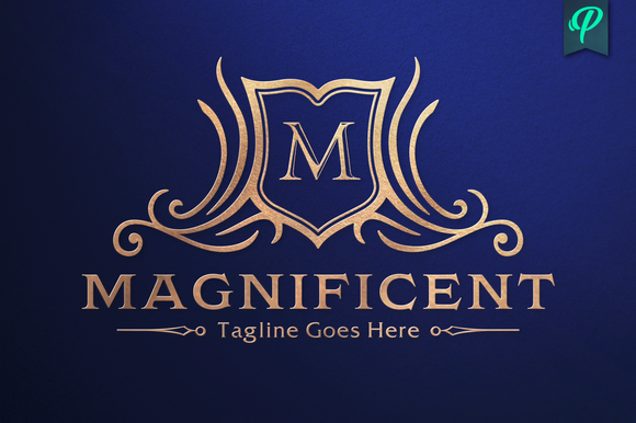 magnificent crest logo template crest logo logo templates and