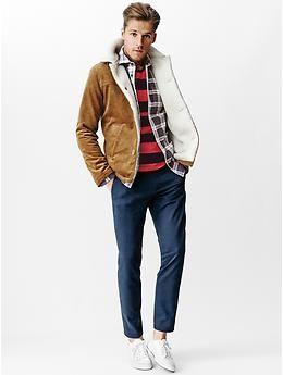 Gap Gq M Nii Sherpa Cord Jacket Gap Mens Fashion Buys