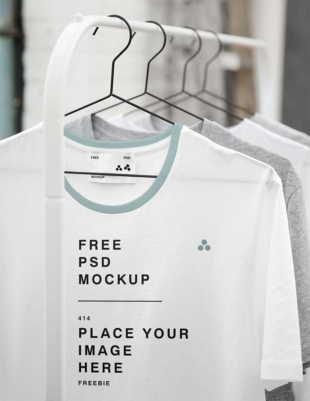 Download Free Hanging T Shirt Mockups Mockuptree Tshirt Mockup Free Clothing Mockup Tshirt Mockup