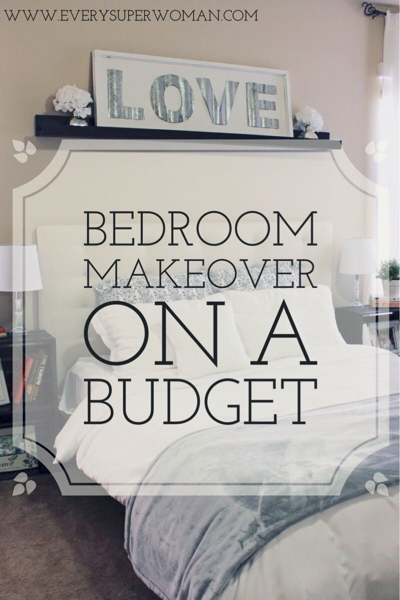 Bedroom Makeover on a Budget & Cariloha Giveaway images