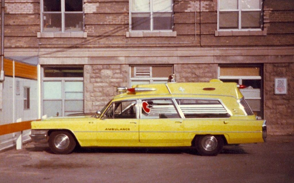 65 Cadillac Ambulance Brandon Manitoba Ambulance Taken Winnipeg