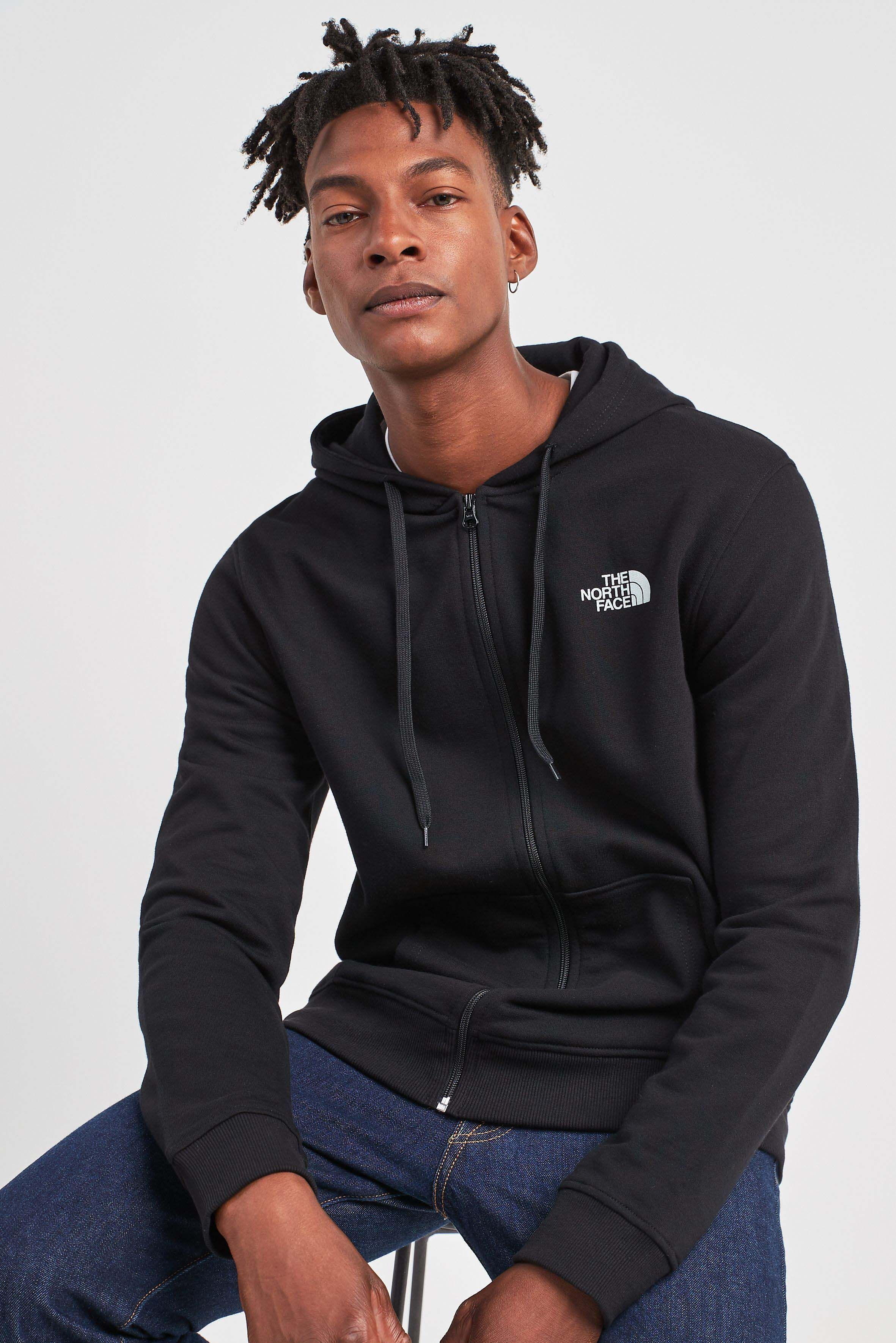 9e09ec59f Mens The North Face Open Gate Full Zip Hoody - Black | Products ...