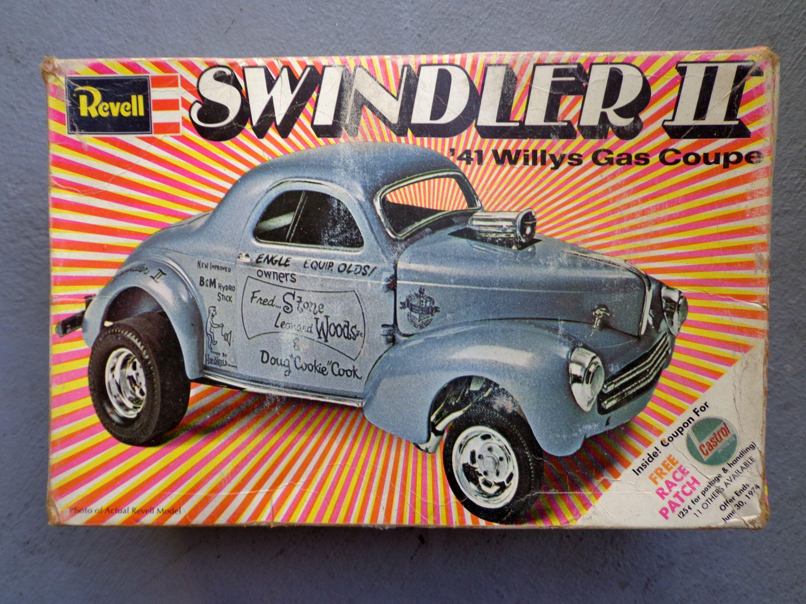 Vintage revell swindler ii model kit stores ebay com rockabillyhoodlum willys
