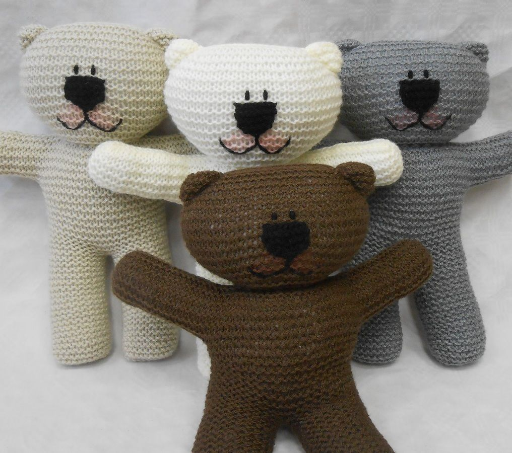 Teddy bear easy knit pattern suitable for beginner knitters with teddy bear easy knit pattern suitable for beginner knitters with illustrated instructions by wooly crew ideal learn to knit pattern bankloansurffo Choice Image