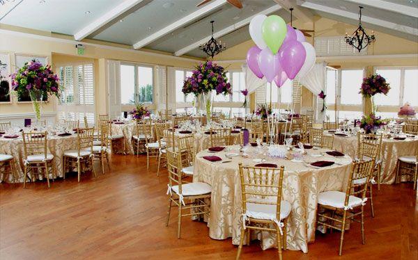 Bon Balloons Wedding Table Centerpiece