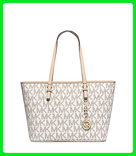 1f15df36a0 MICHAEL Michael Kors Jet Set Travel Top Zip Tote (Vanilla) - Top handle  bags ( Amazon Partner-Link)