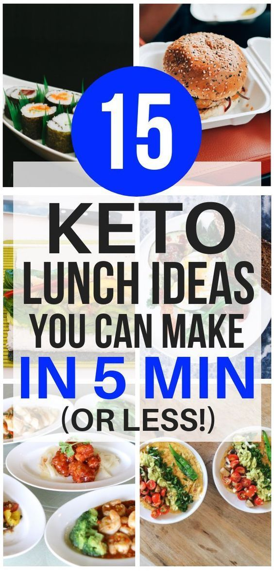 15 Great Quick & Easy 5-Minute Keto Lunch Ideas images