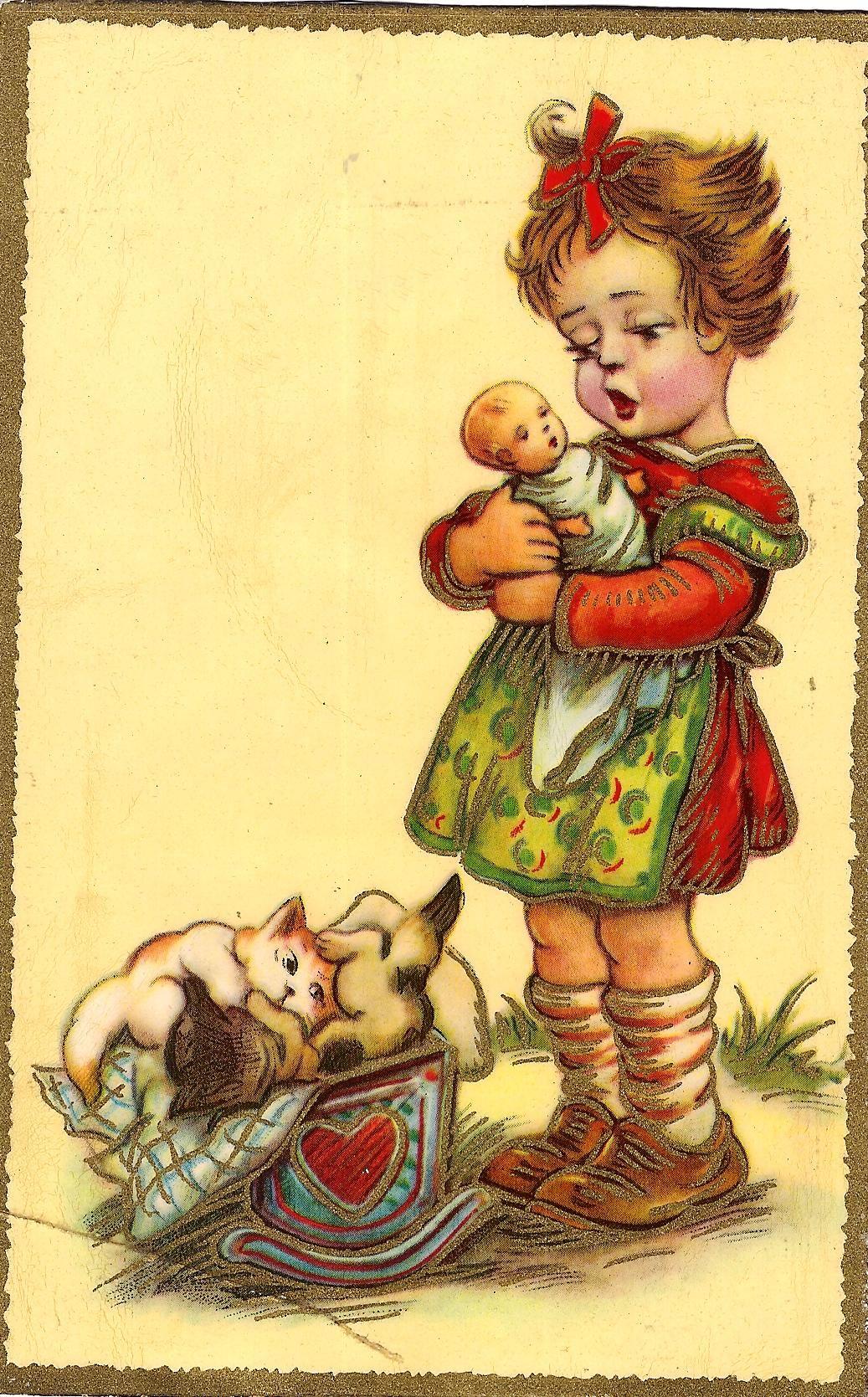 Немецкие ретро открытки