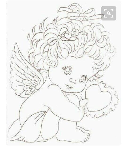 Pin By Josenilda Elvira On Desenhos Angel Coloring Pages Valentine Coloring Coloring Pages