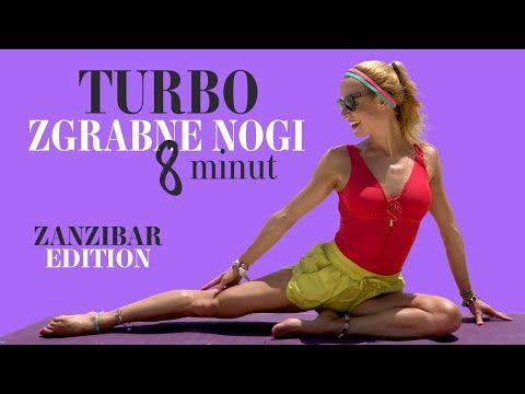 Turbo zgrabne NOGI   8 minut   Ola Żelazo - YouTube