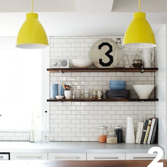 Apartment Therapy Kitchen Shelves: Inspiration For Sandra And Justin's Kitchen
