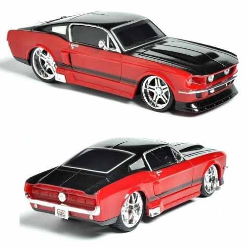 68157b856 Carro Controle Remoto Maisto Mustang Gt 1967 Carrinho 1 24