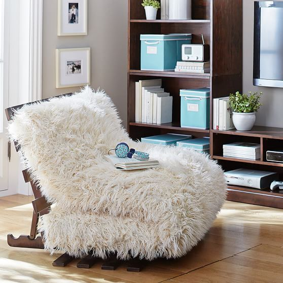i must have this faux fur futon set this would look so cute in my living room  this isn u0027t as good as practical as the brown color but if we got      rh   pinterest