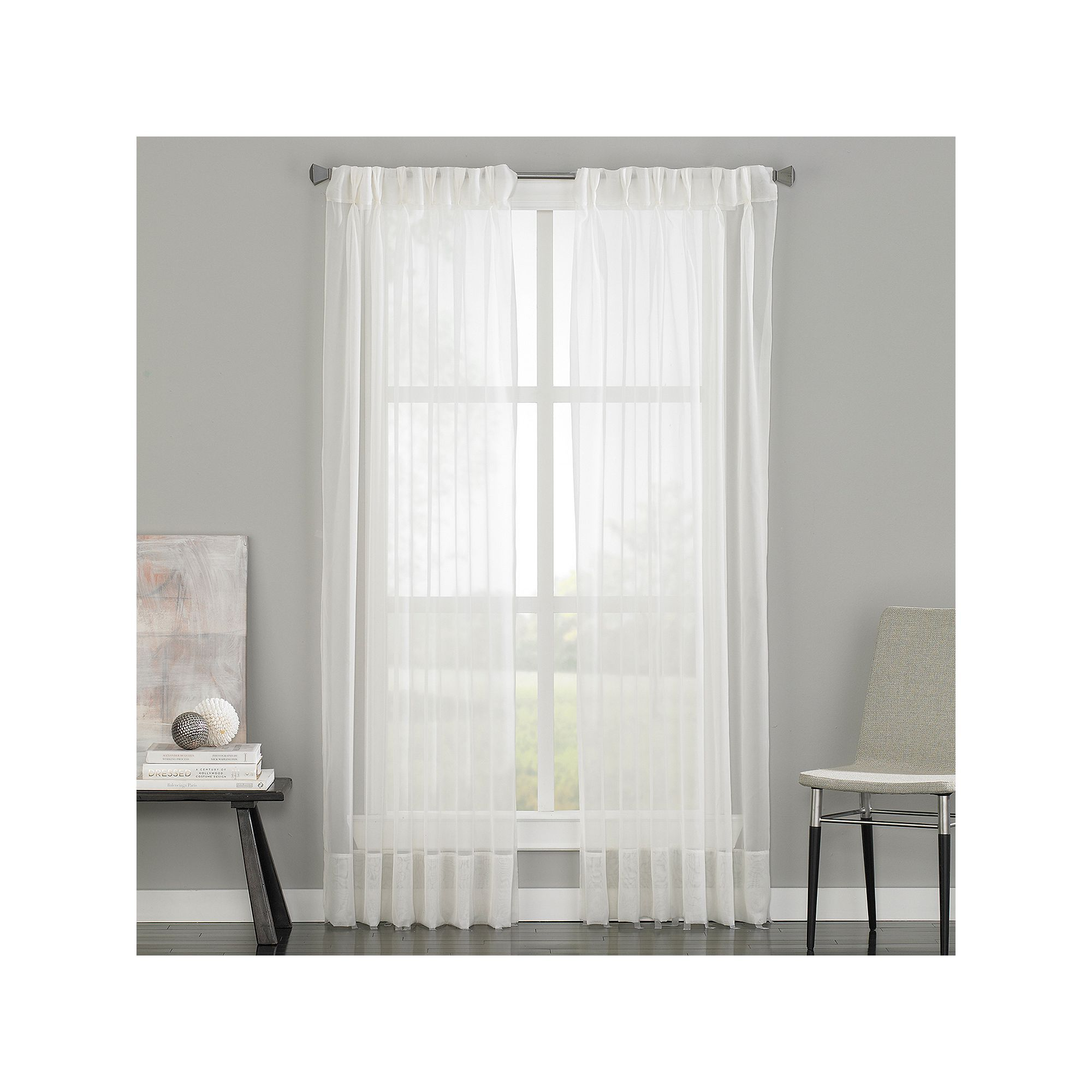 curtains home set aurora sheer inch garden darkening today free panel x mix room grommet shipping piece product curtain moroccan pair and match voile