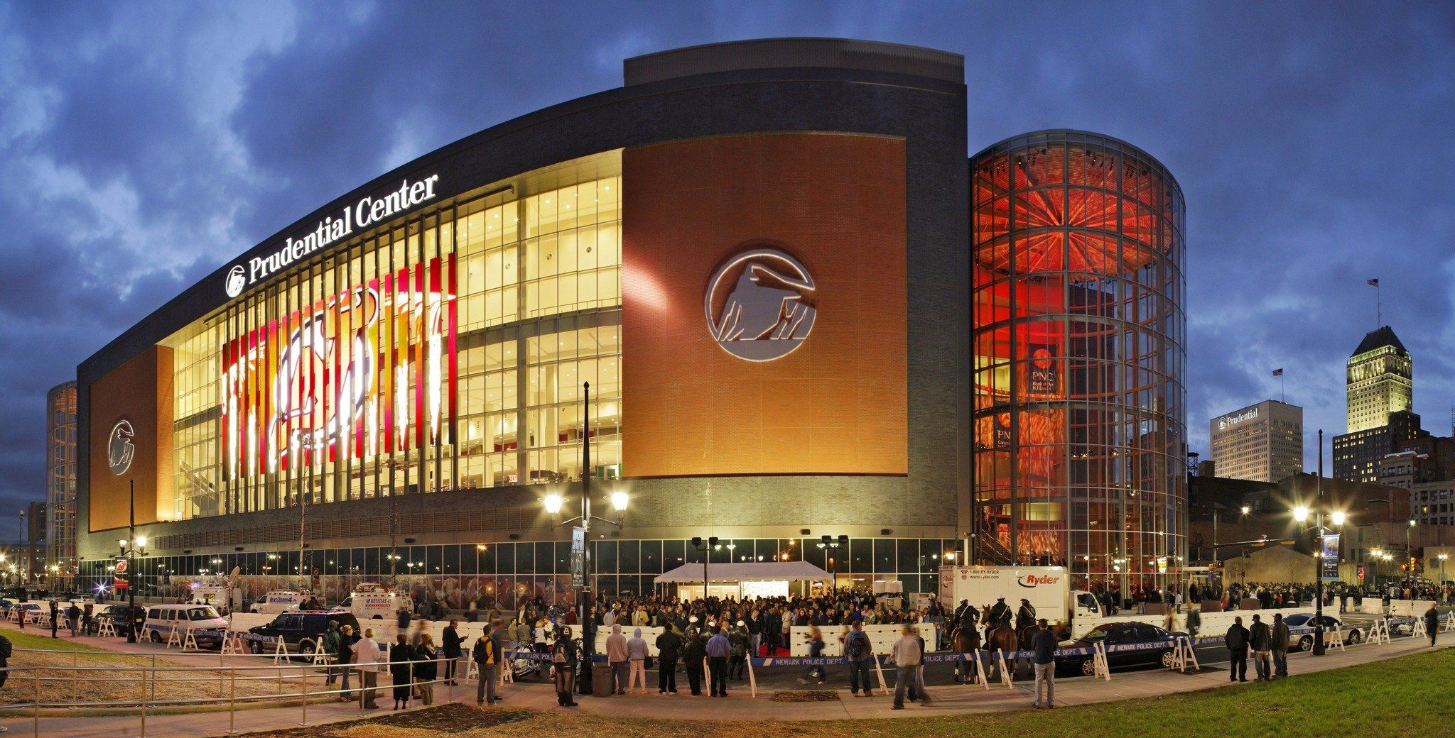 The Prudential Center Has Lots Of Concerts And Is The Home Of The New Jersey Devils Newark Ferry Building San Francisco Prudential