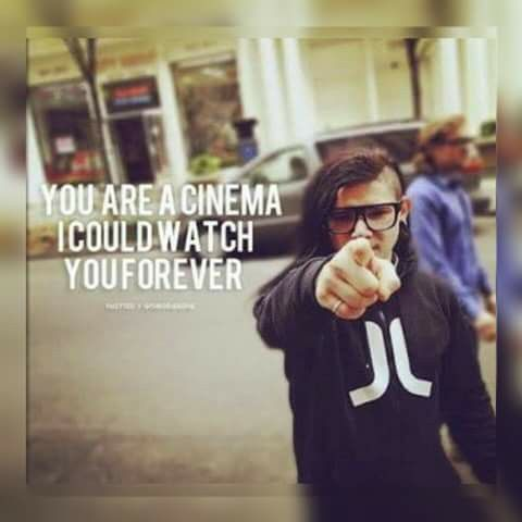 Your Are My Cinema A I Could Watch You Forever Skx