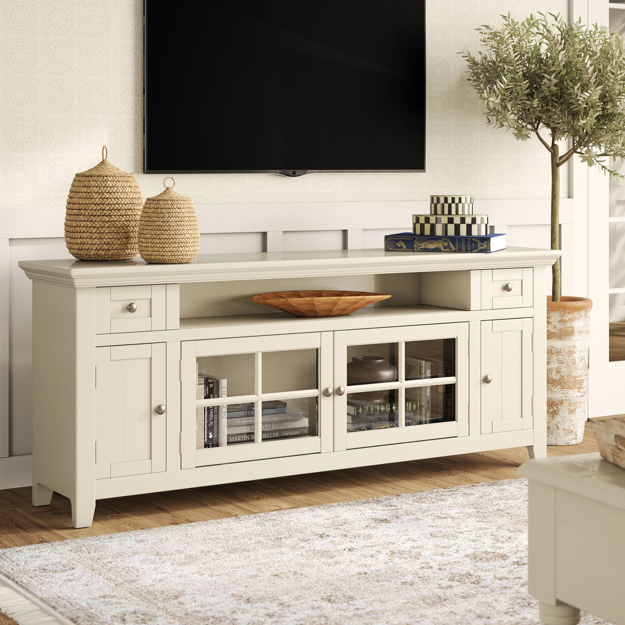 Birch Lane Heritage Yates Tv Stand For Tvs Up To 78 Reviews