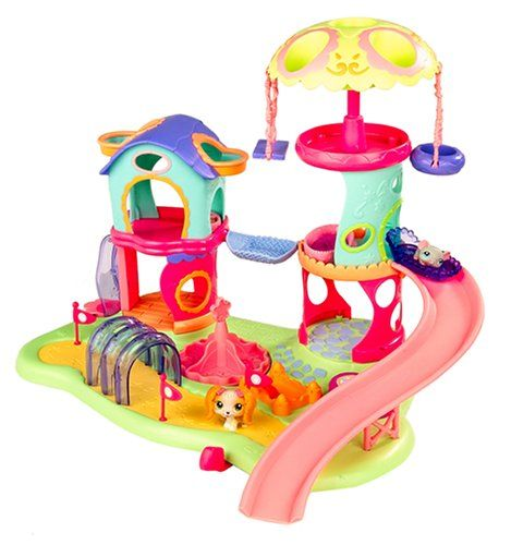 Littlest Pet Shop Whirl Around Playground Playset Hasbro Http Www Amazon Com Dp B0007upxmi Ref Cm Sw R Pi Dp Sz Bub10 Lps Toys Little Pet Shop Toys Lps Pets