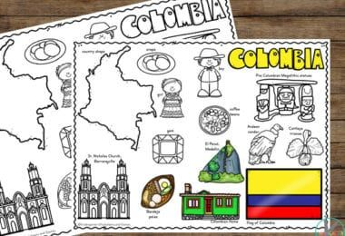 FREE Zoo Animals Color by Number Worksheets for ...