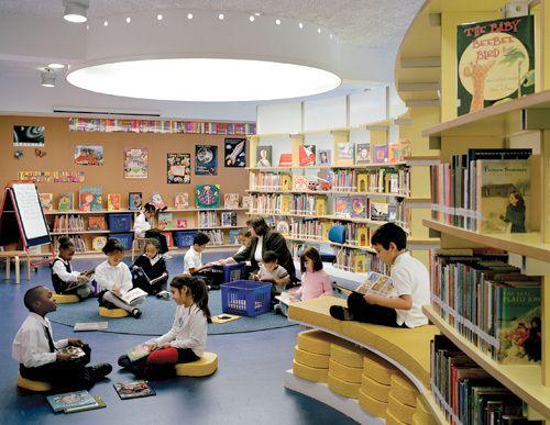 Elementary School Classroom Design Standards ~ School library design tips for the pinterest