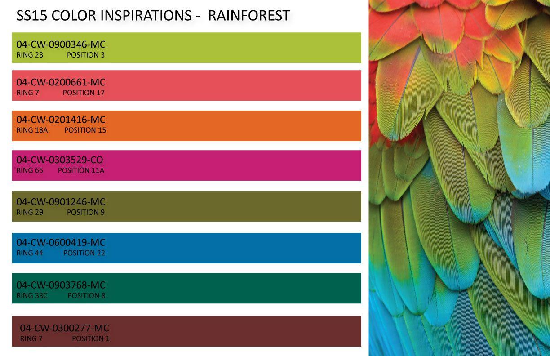 2015 Fashion Color Trends