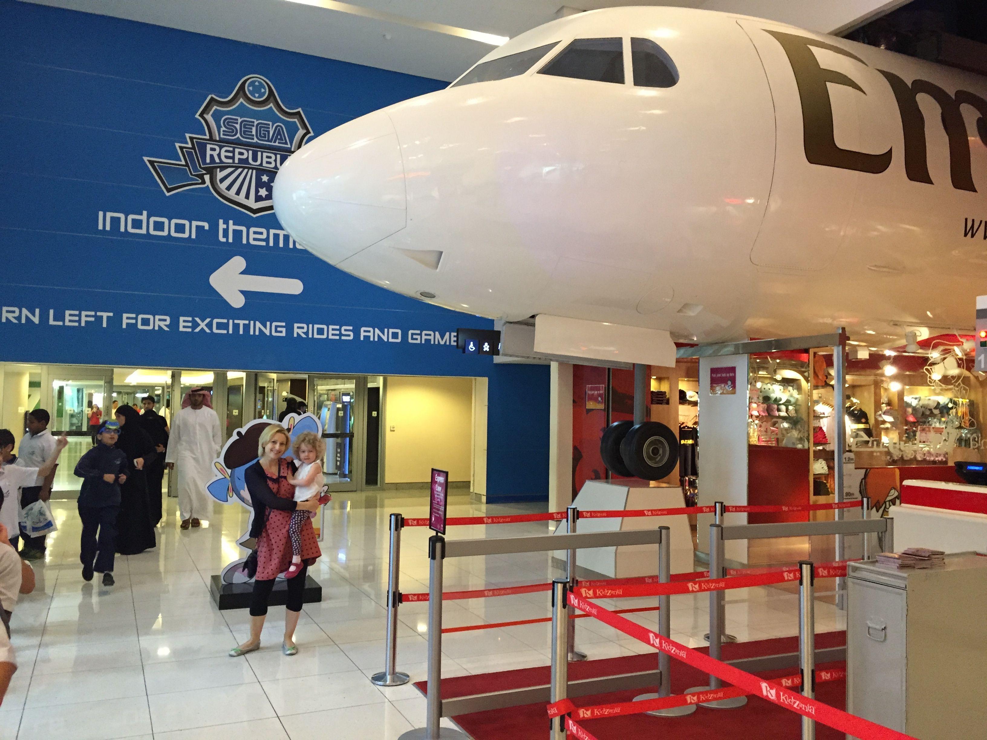 Emirates Plane By Kidzania