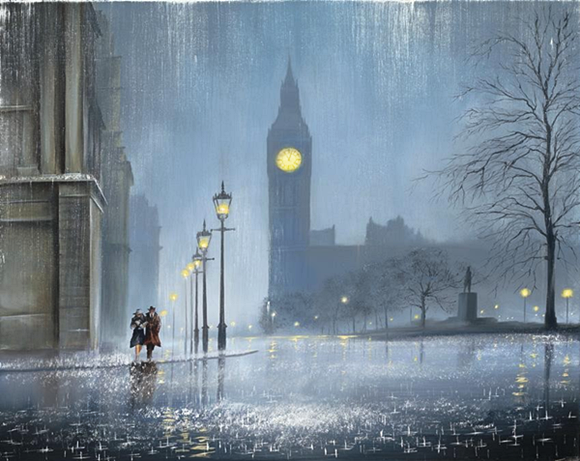 Painting by Jeff Rowland.