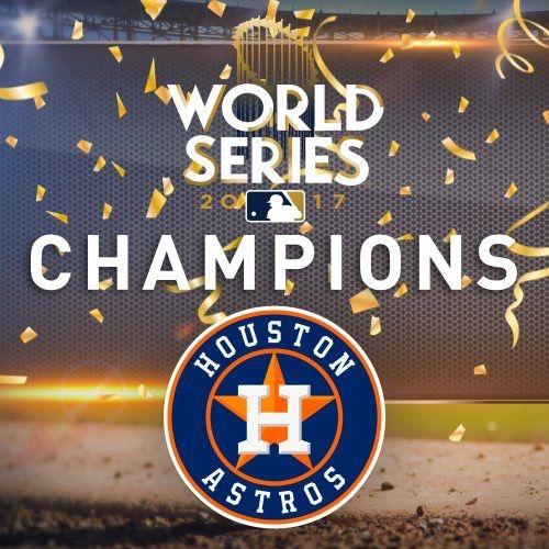 Houston Astros 2017 World Series Champions Houston