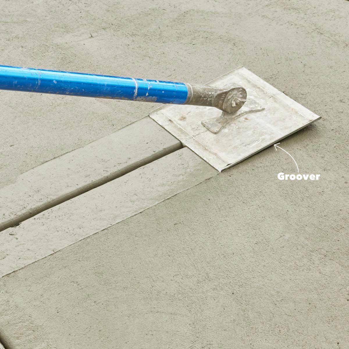 How To Pour A Perfect Concrete Slab Concrete Paving Concrete