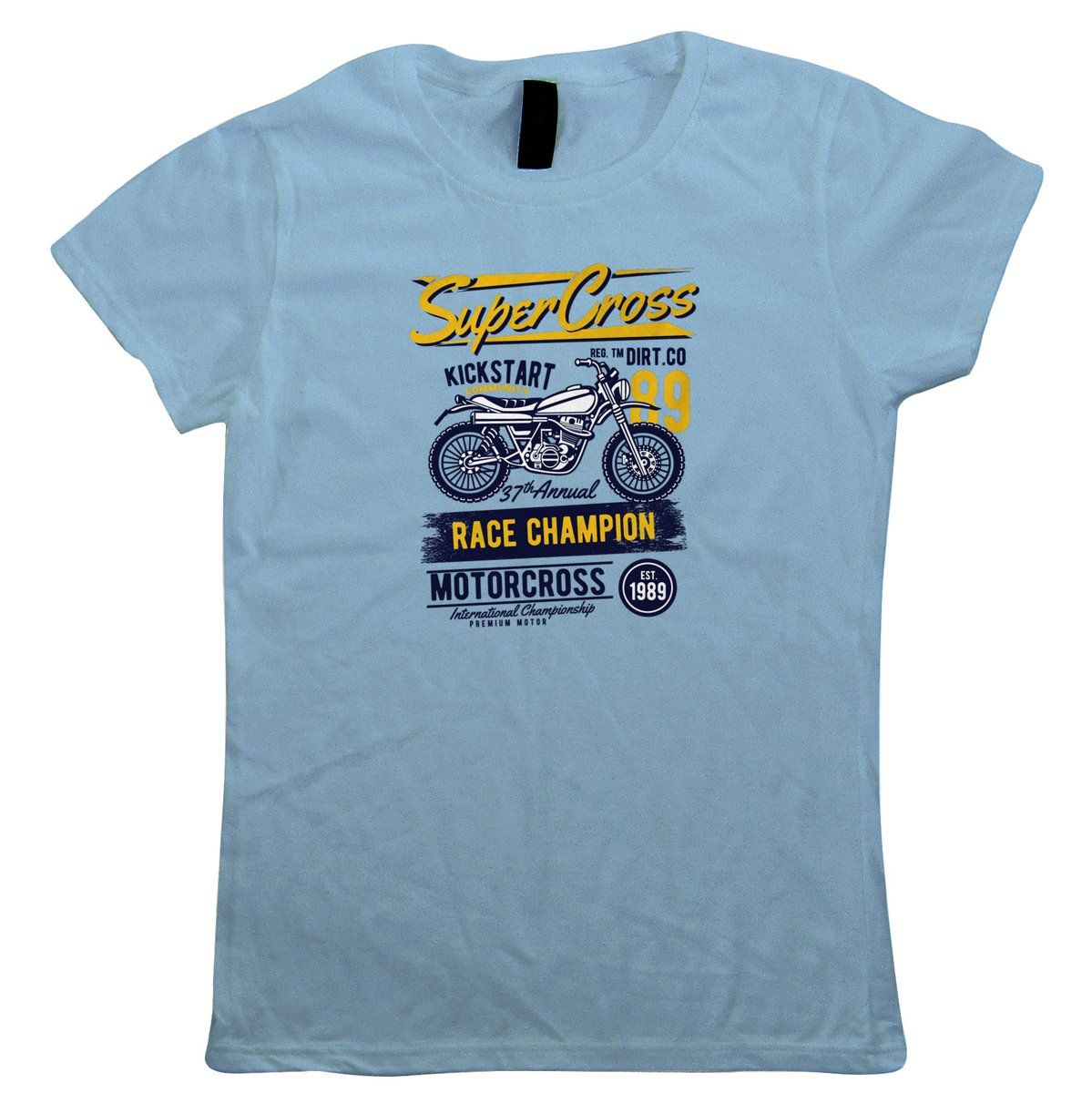 Super Cross Womens T-Shirt – Motorbikes Gift Her Mum