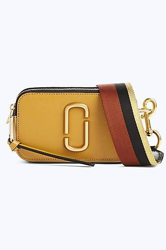 71534eb81d50 Marc Jacobs Snapshot Small Camera Bag in Mustard Multi