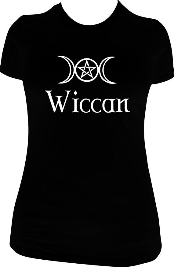 Wiccan Tee Shirt Hoodie Witch Witchcraft Wicca My Tee Designs