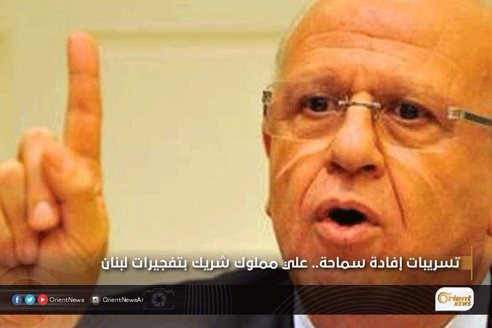 Orient أورينت On Instagram عرضت القنوات اللبنانية تسجيلا لإفادة الوزير السابق ميشال سماحة المدان بجرم نقل متفجرات من سورية Instagram Posts Instagram Orient