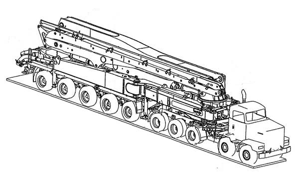 Amazing Flatbed Semi Truck Coloring Page Netart Truck Coloring Pages Coloring Pages Cute Coloring Pages