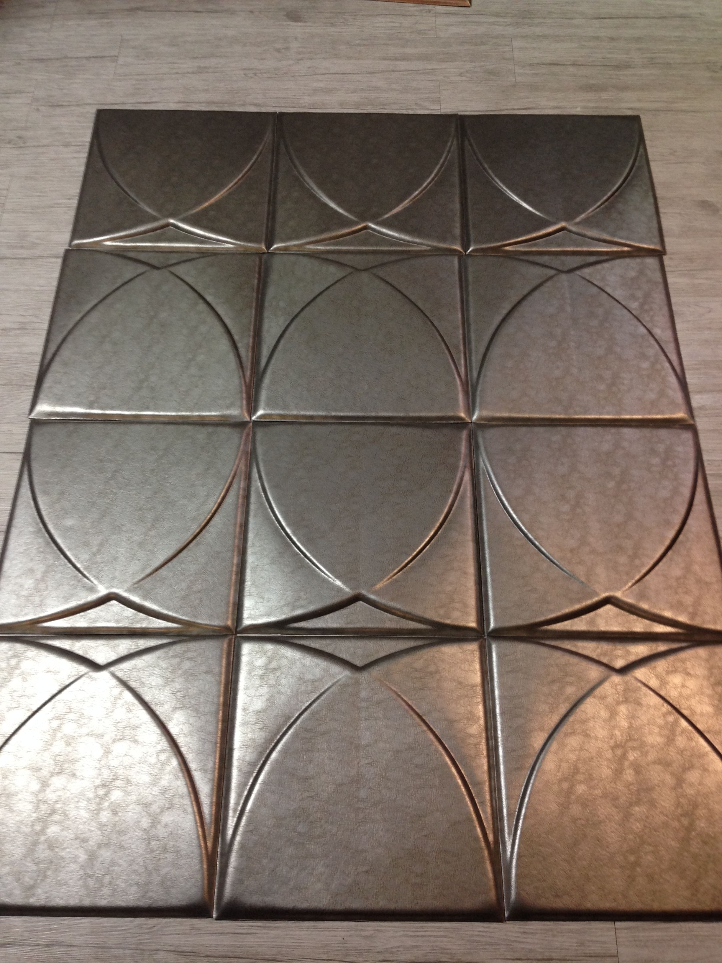 MODERN FAUX LEATHER TILES | I SOURCES INTERNATIONAL | Pinterest ...