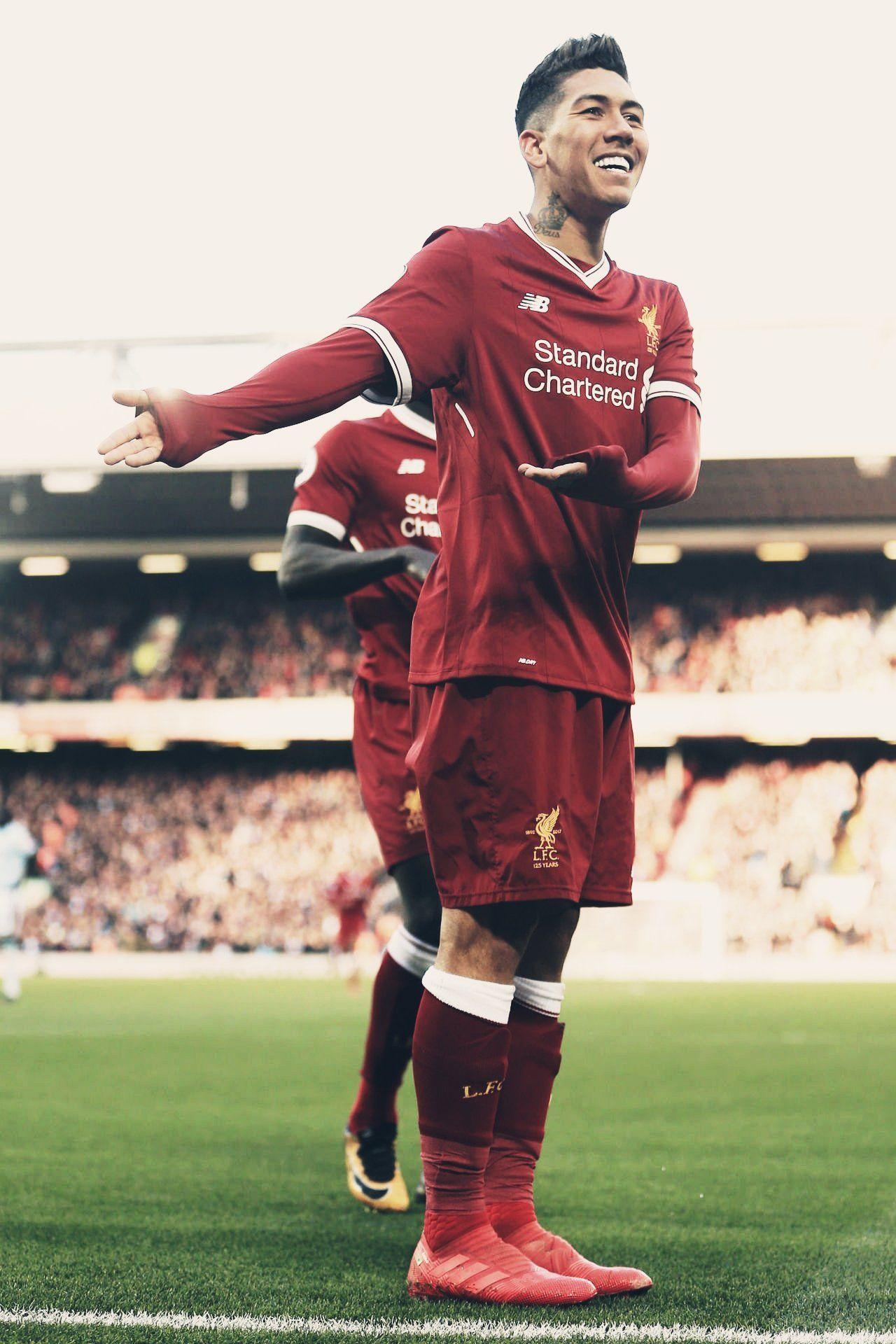 Roberto Firmino Edit Liverpool Fc Football Futbol Pinterest