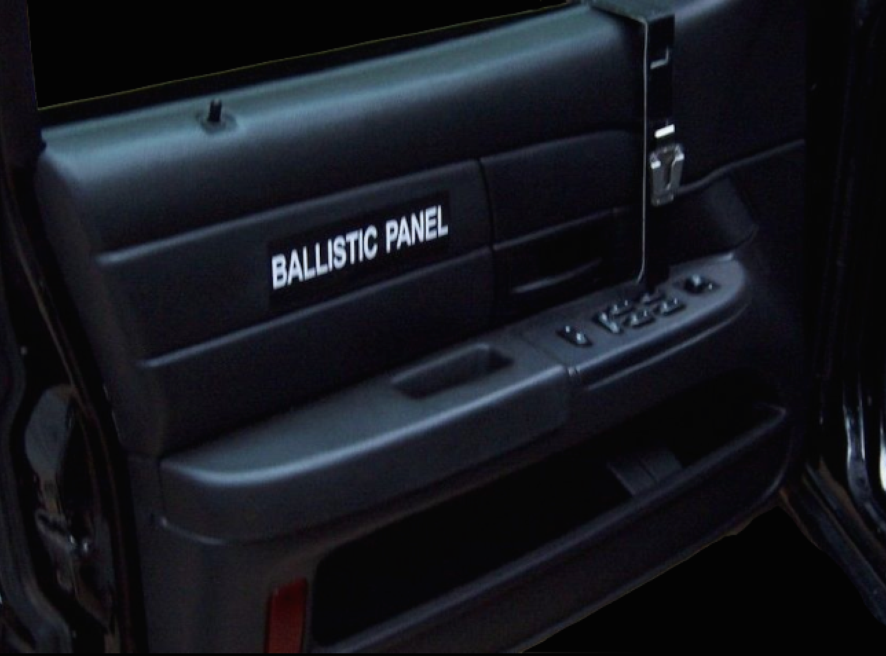Ballistic Door Panels Unmarked Black Death P71 Owners