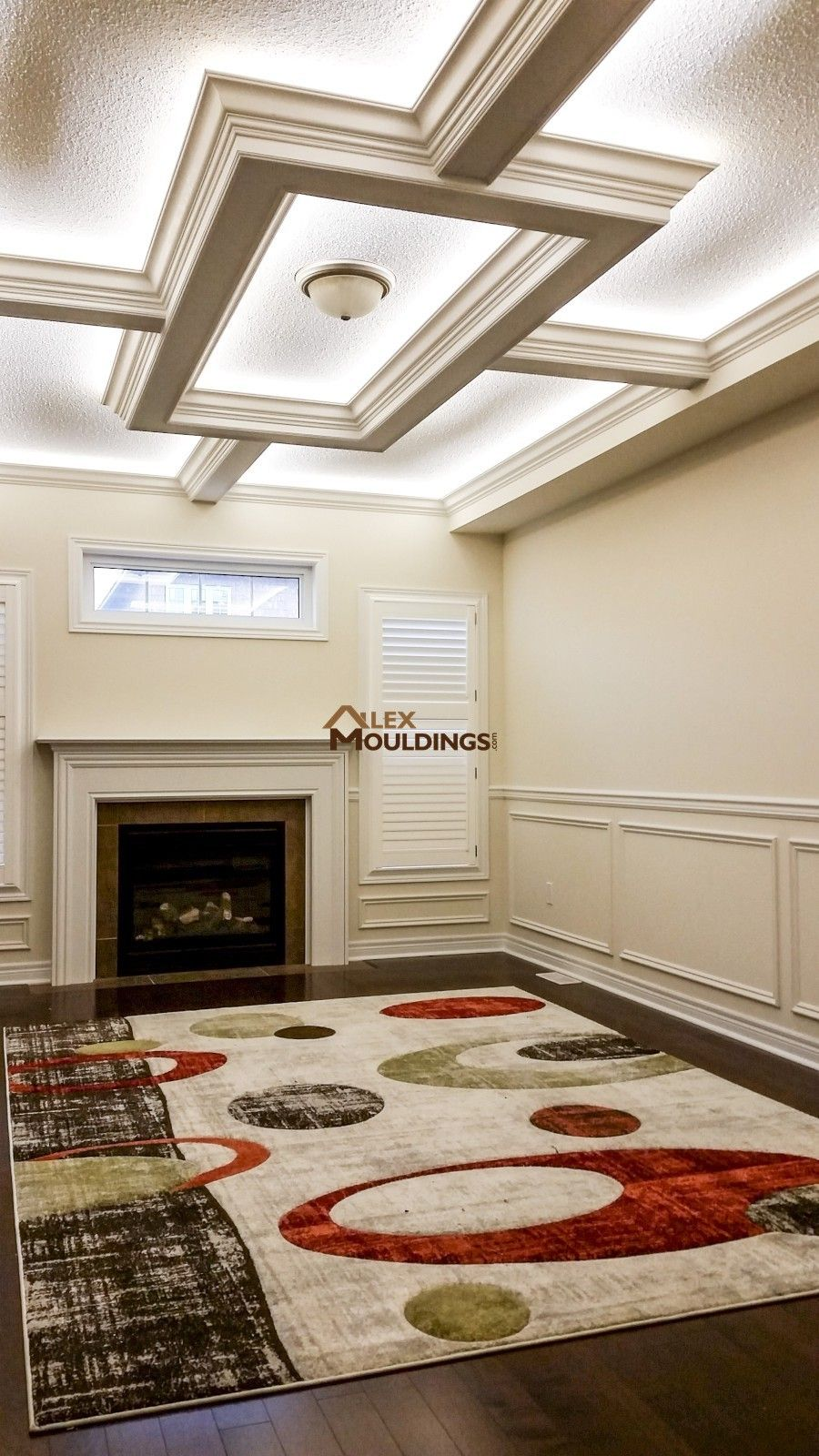 Ceiling Box And Waincotting Coffered And Waffle Ceilings