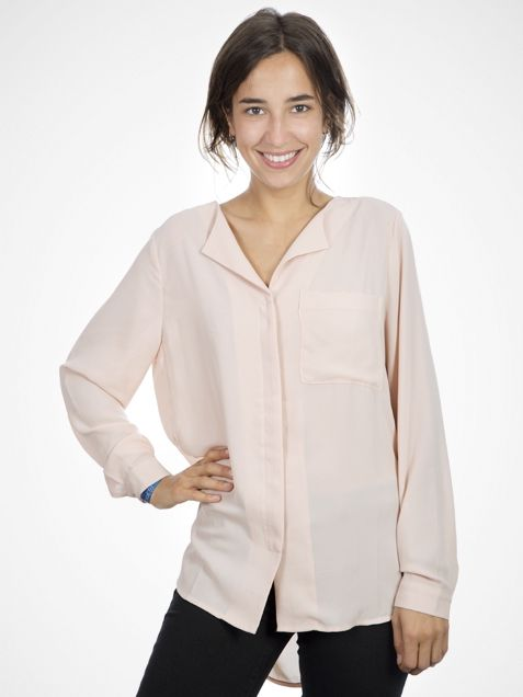 SFDYNELLA Cameo Rose Shirt by Selected Femme