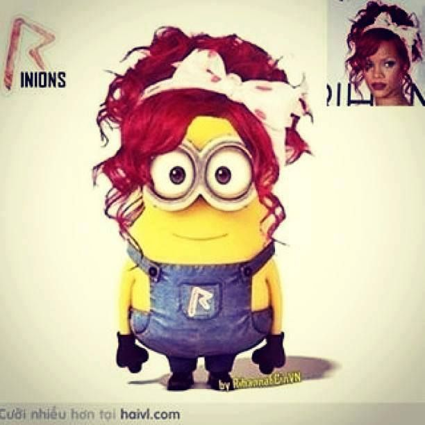 Rihanna Minion