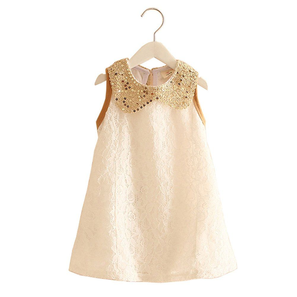 Mud Kingdom Girls Sequin Turn Down Collar Lace Holiday Dress Sleeveless 3t White Bright Ribbon Decoration On The Back Holiday Dresses Dresses Fashion Outfits [ 1001 x 1001 Pixel ]