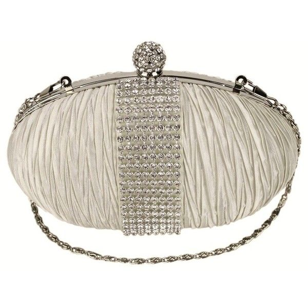 Bridal Handbags In Cream Ivory Bags White Clutch Wedding 21 Liked On Polyvore Featuring And Clutches