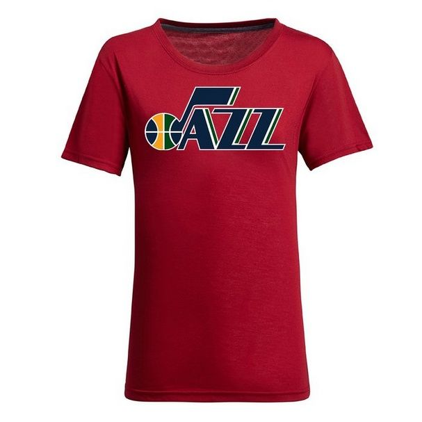 9601b86732b6 awesome NBA Utah Jazz Women s Jersey T-Shirt (Red)