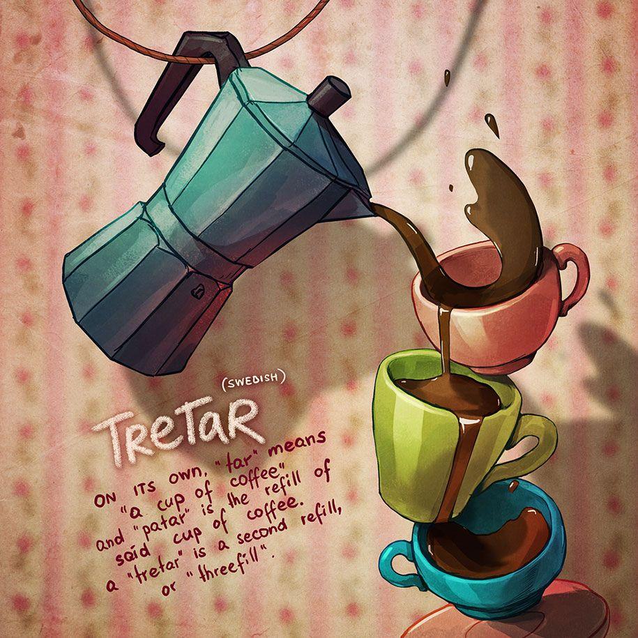 14 Untranslatable Words Explained With Cute Illustratio Album On Imgur Unique Words Cute Illustration Words
