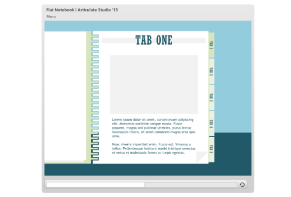 tabbed notebook: flat ui for #powerpoint | powerpoint templates, Modern powerpoint